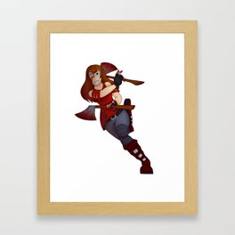 Charis Framed Art Print