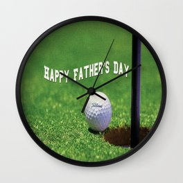 Happy Father's Day Wall Clock