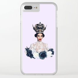 all legs no dairy Clear iPhone Case