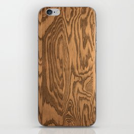 Wood 4 iPhone Skin