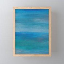 Ocean Mermaid Series, 4 Framed Mini Art Print