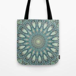 Eye of the Needle Mandala Art Tote Bag