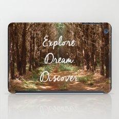 Explore. Dream. Discover. iPad Case