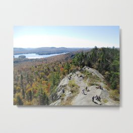 Lookout from Bald Mt. Metal Print