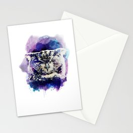 little cute owl Stationery Cards