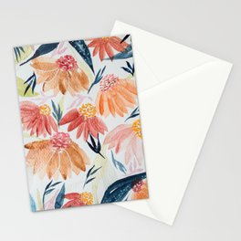 Flowers Meadow Stationery Cards