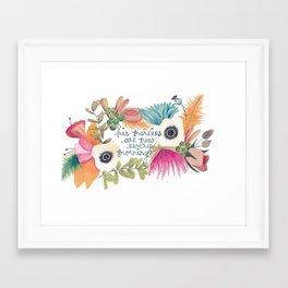 His Mercies are New Framed Art Print