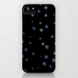 Snowy Blues | Veronica Nagorny iPhone Case
