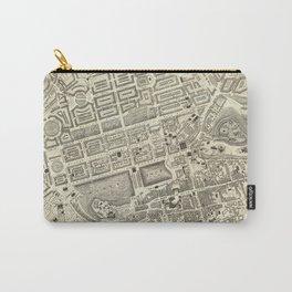 Vintage Map of Edinburgh Scotland (1844) Carry-All Pouch