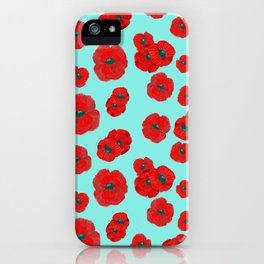 Light Poppies iPhone Case