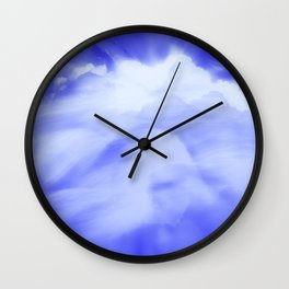 Clouds of Change Wall Clock