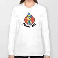 fallout Long Sleeve T-shirts featuring Fallout Boy by Logan Niblock