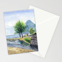 Fox in Lugano Stationery Cards