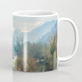 Mountain river Sella Coffee Mug