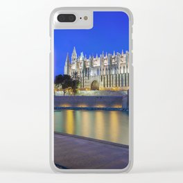 Palma Cathedral,Mallorca,Spain Clear iPhone Case