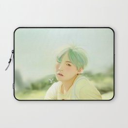Mint Yoongi Laptop Sleeve