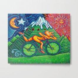 Bicycle Day Metal Print