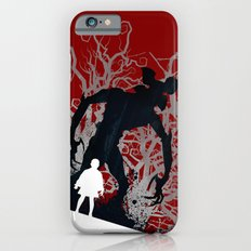 Stranger Things - TV Series   80's   Cult   TV   Monster   Forest   Eleven   Movie   Poster iPhone 6s Slim Case