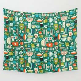 Vintage Kitchen Wall Tapestry