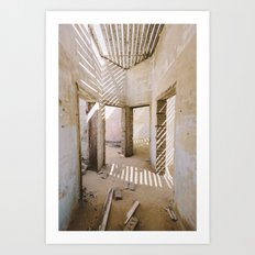 Kolmanskop Ghost Town - Namibia Art Print