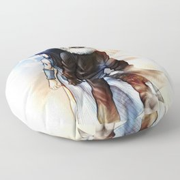 Squall and Rinoa - Griever Floor Pillow