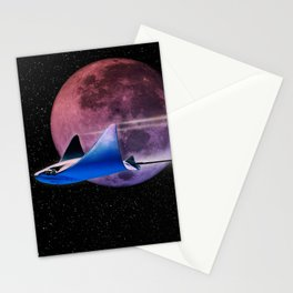 Exploring Stingray Stationery Cards