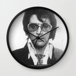 Elvis Presley Mug Shot Vertical Wall Clock