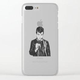 alex turner-ciggy Clear iPhone Case