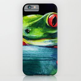 Hello by Kathy Morton Stanion iPhone Case