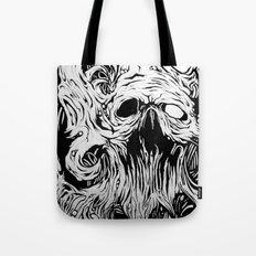 Organic Skull Tote Bag