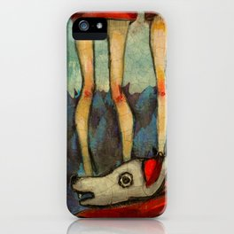 Five Little Red Riding Hoods 2 iPhone Case
