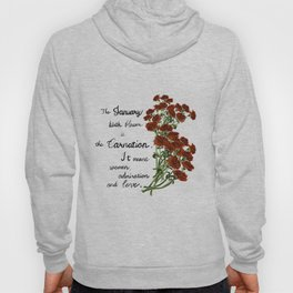 Carnation - Birth Month Flower for January Hoody