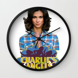 Kate Jackson Wall Clock