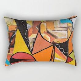 City Stories Rectangular Pillow