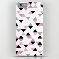 Triangles Black and Pink Slim Case iPhone 6 Plus