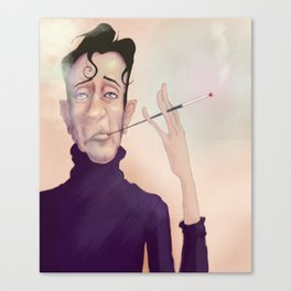 Turtleneck Guy Canvas Print