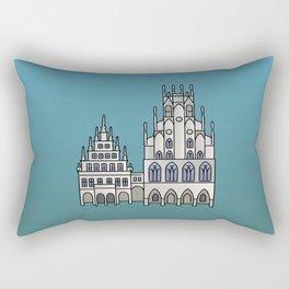 Town Hall Münster Rectangular Pillow