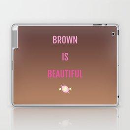 Brown Is Beautiful Laptop & iPad Skin