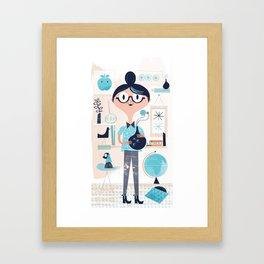 Domestic Life Framed Art Print