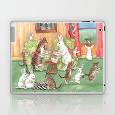 Tea with the Tabbies Laptop & iPad Skin