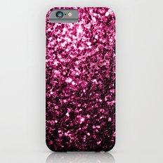 Beautiful Pink glitter sparkles Slim Case iPhone 6