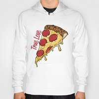 pizza Hoodies featuring Pizza by jeff'walker