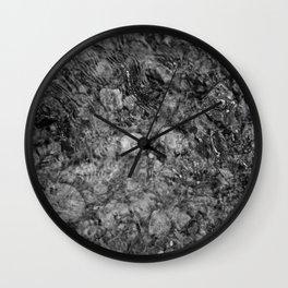 River / Rocks Wall Clock