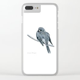 Black-Eyed Junco by Teresa Thompson Clear iPhone Case