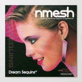 Nmesh - Dream Sequins®  Canvas Print