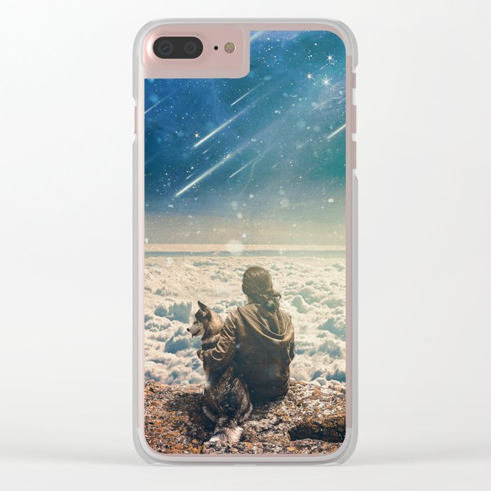 Companion Clear iPhone Case
