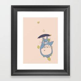 Totoro Framed Art Print