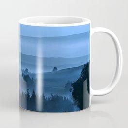 My road, my way. Blue. Coffee Mug