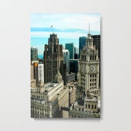 Top of the Trump Metal Print