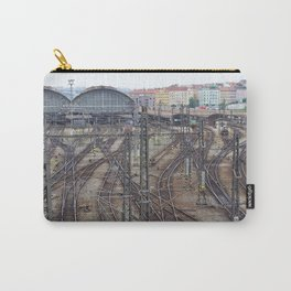 Prague Train Station Carry-All Pouch
